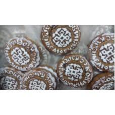Коврижка с вареньем (пряник печатный) Вес 1.1 кг Тамбов
