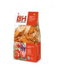 Baker House. Итальянские хлебцы с томатом и орегано. Вес 250 гр.