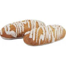 «Заварики», печенье в белой глазури, заварное (коробка 1,5 кг) Яшкино
