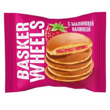 «Basker Wheels», pancake с джемом с соком малины, 36 гр. Яшкино