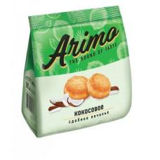 «Arimo», печенье кокосовое, сдобное, 250 гр.