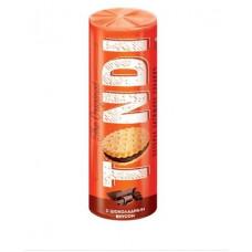 «Tondi», печенье–сэндвич с шоколадным вкусом, 182 гр. Яшкино