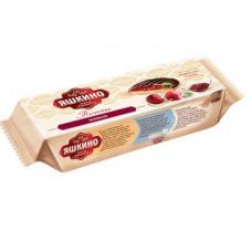 «Яшкино», печенье «Вишня», сдобное, 137 гр.