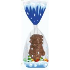 """Фигурный шоколад, шоколадная фигурка """"Символ года. Бычок-фигурист"""", Монетный двор, 100 гр. (пакет)"""