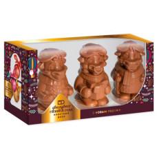 """Фигурный шоколад, шоколадные фигурки """"Символ года. Трио"""" Монетный двор, 300 гр."""
