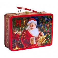 Новогодний подарок: Дед Мороз (жесть) Вес 500 гр. (21749)