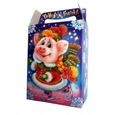 Новогодний подарок: Поросенок на катке!!! Вес 630 гр. Размер 14*8*25 см