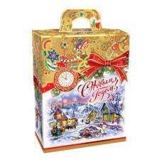 Новогодний подарок: Ожидание рождества-золото. Вес 500 гр. (21644)