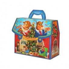 Новогодний подарок: Портфельчик - Семейка. Вес 1000 гр. (21591)