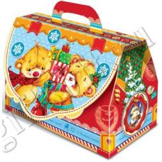 Новогодний подарок: Сладкий чемоданчик. Вес 500 гр.(20920)