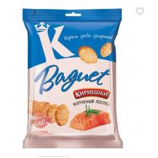 «Кириешки Baguet», сухарики со вкусом копченого лосося, 50 гр.