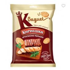 «Кириешки Baguet», сухарики со вкусом аргентинских ребрышек, 50 гр.