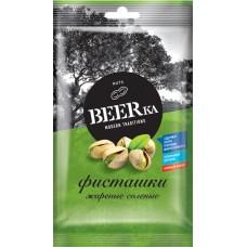 «Beerka», фисташки жареные, солёные, 80 гр. Яшкино