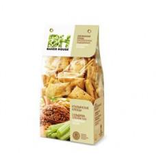 Baker House Итальянские хлебцы с сельдереем и семенами льна. Вес 250 гр.