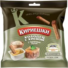 «Кириешки», сухарики со вкусом холодца с хреном и горчичным соусом «Heinz», 85 гр.