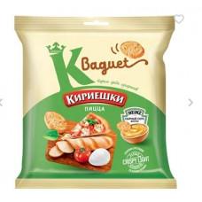 «Кириешки Baguet», сухарики со вкусом пиццы и сырным соусом, 75 гр.