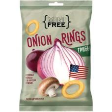 «Mini Free», луковые кольца со вкусом грибов, 45 г Яшкино