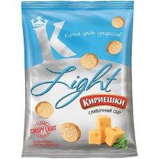 «Кириешки Light», сухарики со вкусом сливочного сыра, 80 гр.