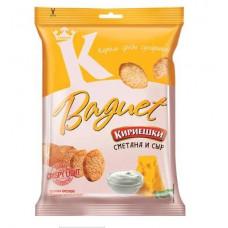 «Кириешки Baguet», сухарики со вкусом сметаны и сыра, 50 гр.