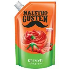 «Maestro Gusten», кетчуп «Чили» без усилителей вкуса, 400 гр. ЯШКИНО