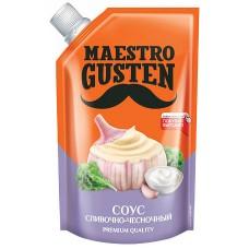 «Maestro Gusten», соус «Сливочно-чесночный», 196 гр. Яшкино