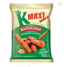 «Кириешки Maxi», сухарики со вкусом крылышек Баффало, 60 гр.