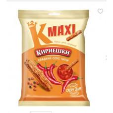 «Кириешки Maxi», сухарики со вкусом сладкого чили, 60 гр.