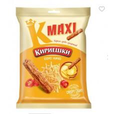 «Кириешки Maxi», сухарики со вкусом соуса начо, 60 гр.