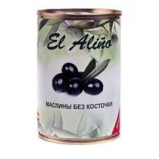 «EL alino», маслины крупные без косточки, 270 гр.