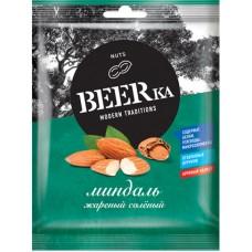 «Beerka», миндаль жареный, солёный, 40 гр. Яшкино