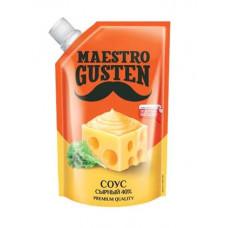 «Maestro Gusten», соус «Сырный», 196 гр.