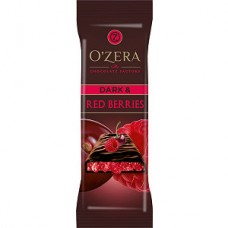 «OZera», шоколад горький Dark & Red berries, 40 г (упаковка 15 шт) Яшкино