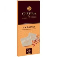 «OZera», белый карамельный шоколад «Caramel», 90 гр. Яшкино