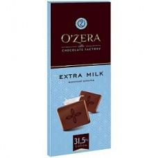 «OZera», шоколад молочный «Extra milk» , 90 гр. Яшкино