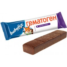 «BebiFox», гематоген, 40 г (упаковка 18 шт). Яшкино