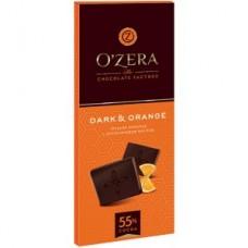 «OZera», горький шоколад с апельсиновым маслом «Dark&Orange», 90 гр.