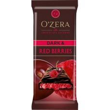 «OZera», шоколад горький Dark & Red berries, 90 гр. Яшкино