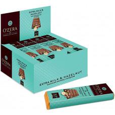 «OZera», шоколадный батончик Extra milk & Hazelnut, 42 г (упаковка 20 шт) Яшкино