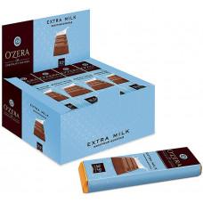 «OZera», шоколадный батончик Extra milk, 42 г (упаковка 20 шт) Яшкино
