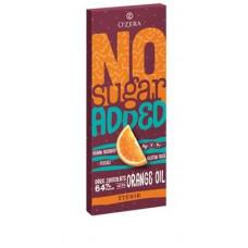 «OZera», горький шоколад без сахара с апельсином Dark&Orange, 90 гр. Яшкино