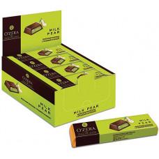 «OZera», шоколадный батончик Milk Pear-груша, 50 г (упаковка 20 шт)