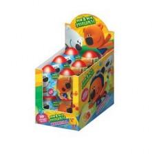 """""""МИ-МИ-МИШКИ"""" Мармелад в пластиковом яйце с игрушкой. Блок 12шт. Вес 10 гр."""