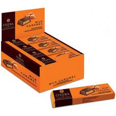 «OZera», шоколадный батончик Milk Caramel, 50 г (упаковка 20 шт)