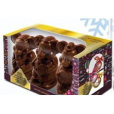 Мышка-фигурный шоколад в индивидуальной упаковке. Вес 300 гр. Москва
