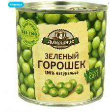 «Домашние заготовки», зелёный горошек консервированный, 400 гр. Яшкино