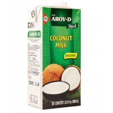 КОКОСОВОЕ МОЛОКО НАТУРАЛЬНОЕ AROY-D 60% Тайланд 1 литр.