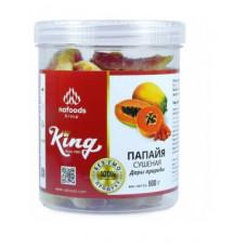 Папайя сушеная натуральная King Nafoods в банке, 500 гр. Вьетнам