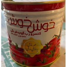 Томатная паста, густая, ХУШХУШ. Вес 700 гр. Иран
