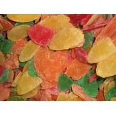 Ананас цукаты листики микс (Тайланд) Вес 1 кг.