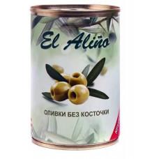 «EL alino», оливки крупные без косточки, 270 гр.